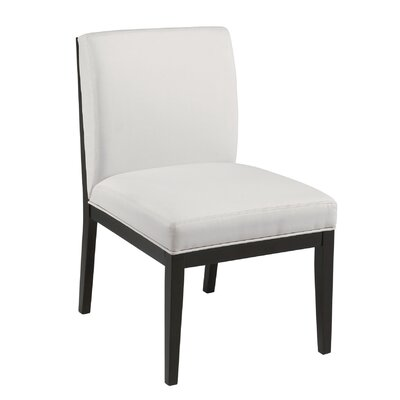 Othello Parsons Chair (Set of 2) Upholstery: White