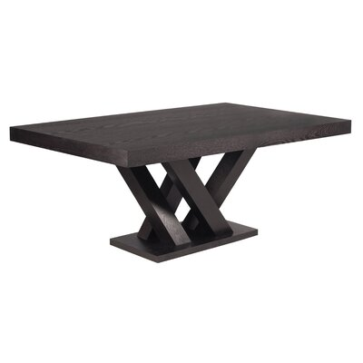 Madero Dining Table Finish: Dark Espresso