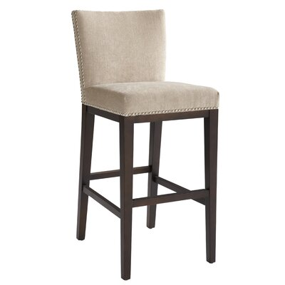 5West 26 Vintage Bar Stool Upholstery: Linen