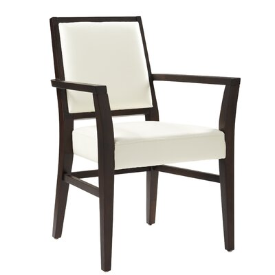 Picture of Sunpan Modern Citizen Arm Chair Upholstery: Ivory in Large Size