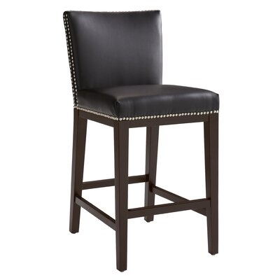 5West 26 Vintage Bar Stool Upholstery: Brown