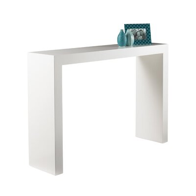 Arch Console Table Finish: White