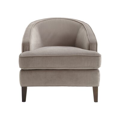 5West Coleman Barrel Chair Upholstery: Grey