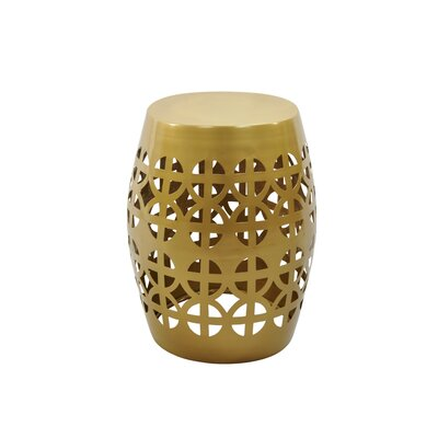 Artisan Garden Stool Finish: Gold