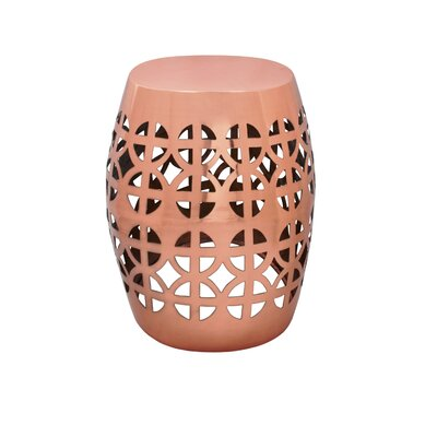 Artisan Garden Stool Finish: Copper