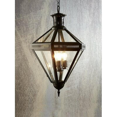 3-Light Foyer Pendant Color: Bronze