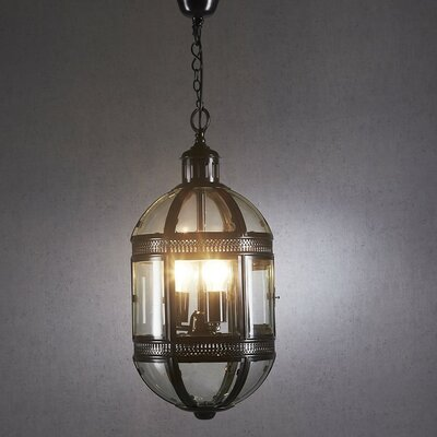 3-Light Capsule Hanging Lamp Color: Bronze