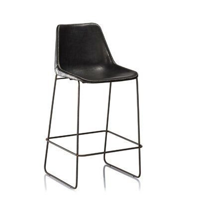 31 Bar Stool Color: Black