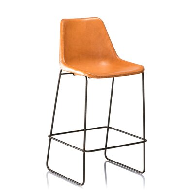 31 Bar Stool Color: Tan
