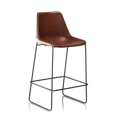 31 Bar Stool Color: Brown
