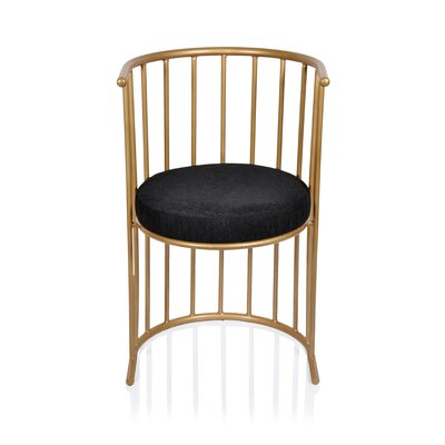 Barrel Chair Color: Anti Gold