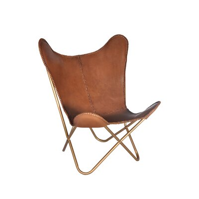 Safari Leather Lounge Chair