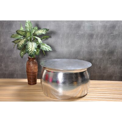 Kirsten Hammered Coffee Table