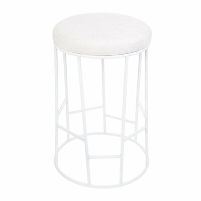 Chester Hill Bar Stool Finish: White