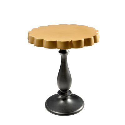 Thaxter End Table Finish: Gold