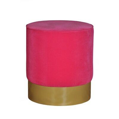 Natosha Solid Ottoman Upholstery: Pink