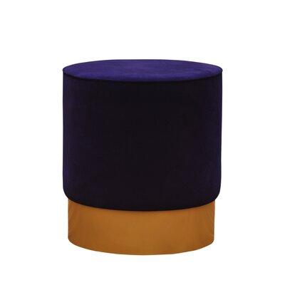 Natosha Ottoman Upholstery: Blue