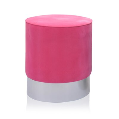 Natosha Ottoman Upholstery: Pink