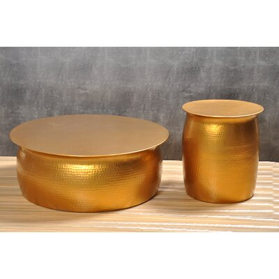 Tera Coffee Table Color: Gold