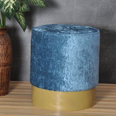 Natosha Ottoman Upholstery: Pacific Blue