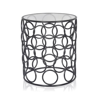 Pirtle End Table Color: Black