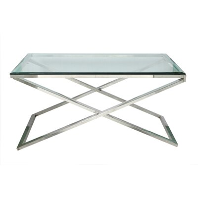 Hudson Cross Coffee Table