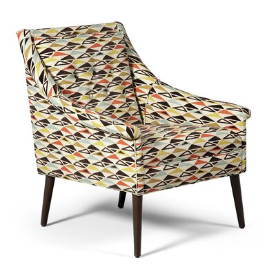 Arcadia Arm Chair Fabric: Nutmeg