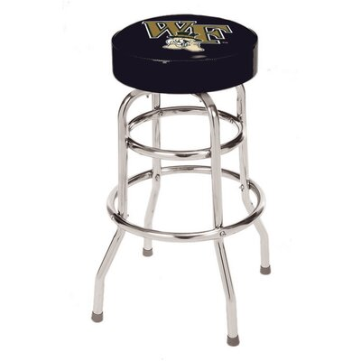 NCAA 24 inch Bar Stool NCAA Team: Wake Forest