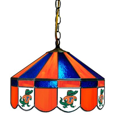 NCAA Wide Swag Hanging Lamp NCAA Team: Florida Gators - Gator Mascot Logo