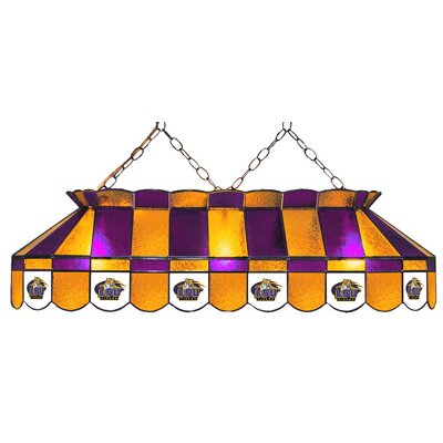 NCAA Pool Table Lamp NCAA Team: LSU - Style 2