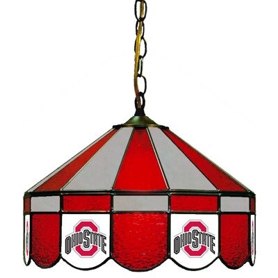 NCAA Wide Swag Hanging Lamp NCAA Team: Ohio State - Ohio State Logo