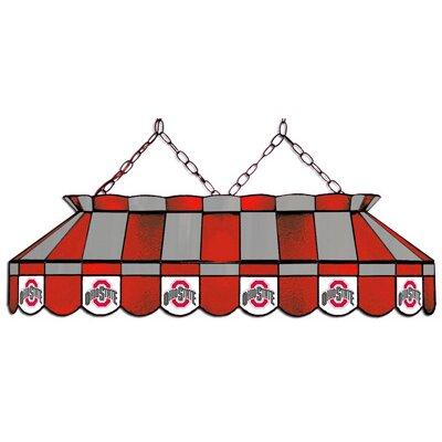 "Wave 7 NCAA 40"" Pool Table Lamp - NCAA Team: Ohio State - Ohio State Logo"
