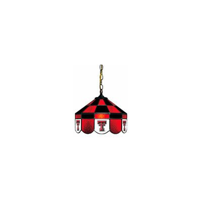 NCAA 14 Wide Swag Hanging Lamp Style: Executive, NCAA Team: Texas Tech