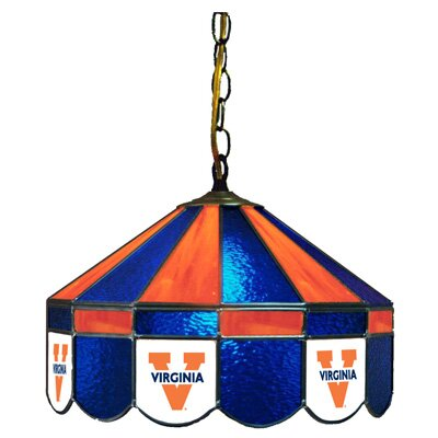 NCAA Wide Swag Hanging Lamp NCAA Team: Virginia - V Logo