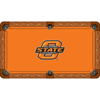 Wave 7 NCAA Recreational Billiard Table Felt - Size: 7', NCAA Team: Oklahoma State - Block