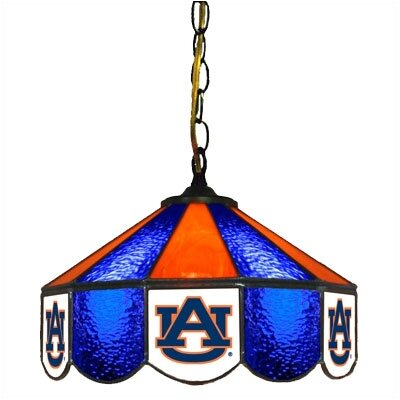 NCAA 14 Wide Swag Hanging Lamp Style: Executive, NCAA Team: Auburn