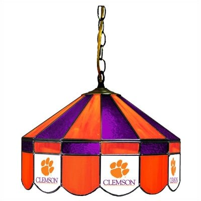 NCAA Wide Swag Hanging Lamp NCAA Team: Clemson