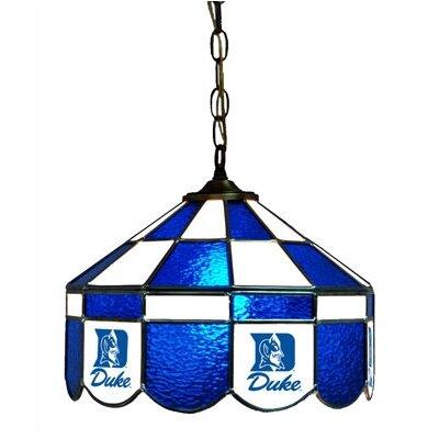 NCAA 14 Wide Swag Hanging Lamp Style: Executive, NCAA Team: Duke