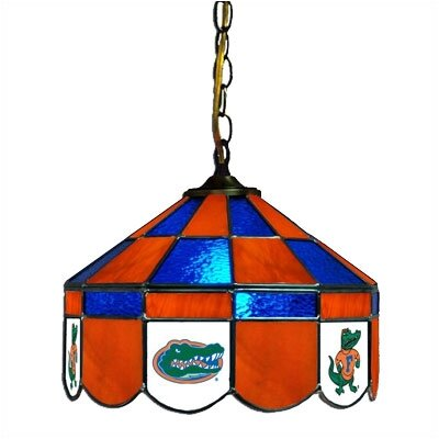 NCAA 14 Wide Swag Hanging Lamp Style: Normal, NCAA Team: Florida Gators