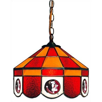 NCAA 14 Wide Swag Hanging Lamp Style: Executive, NCAA Team: Florida State