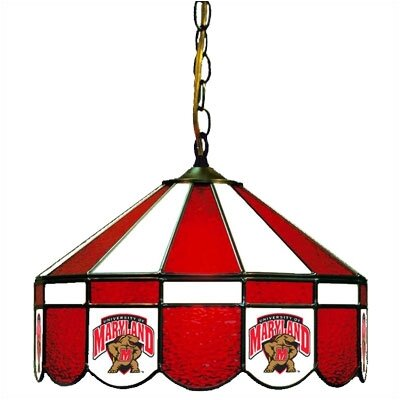 NCAA Wide Swag Hanging Lamp NCAA Team: Maryland