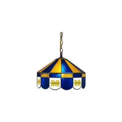 NCAA Wide Swag Hanging Lamp NCAA Team: Michigan