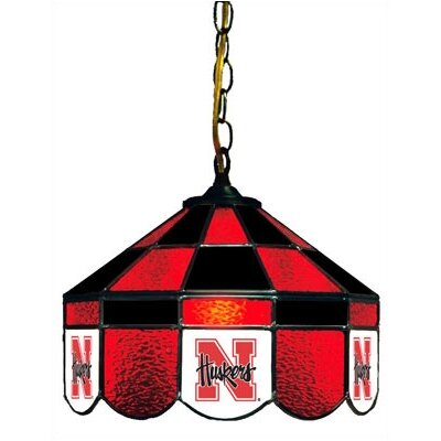 NCAA 14 Wide Swag Hanging Lamp Style: Normal, NCAA Team: Nebraska