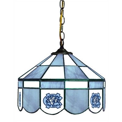 NCAA 14 Wide Swag Hanging Lamp Style: Normal, NCAA Team: North Carolina