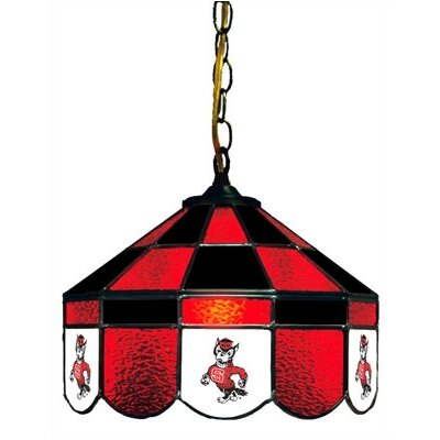 NCAA 14 Wide Swag Hanging Lamp Style: Normal, NCAA Team: North Carolina State