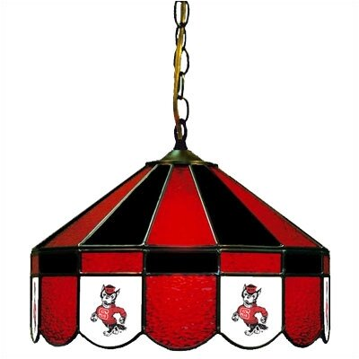 NCAA Wide Swag Hanging Lamp NCAA Team: North Carolina State