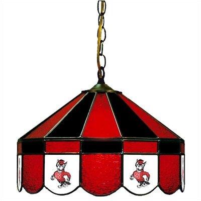 NCAA Wide Swag Hanging Lamp NCAA Team: North Carolina State