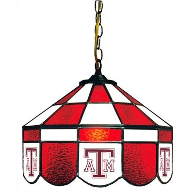 NCAA 14 Wide Swag Hanging Lamp Style: Normal, NCAA Team: Texas A&M