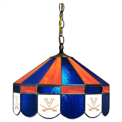 NCAA Wide Swag Hanging Lamp NCAA Team: Virginia - Sword Logo