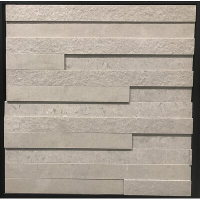 Land Andorra Grigio Porcelain Mosaic Tile in Gray